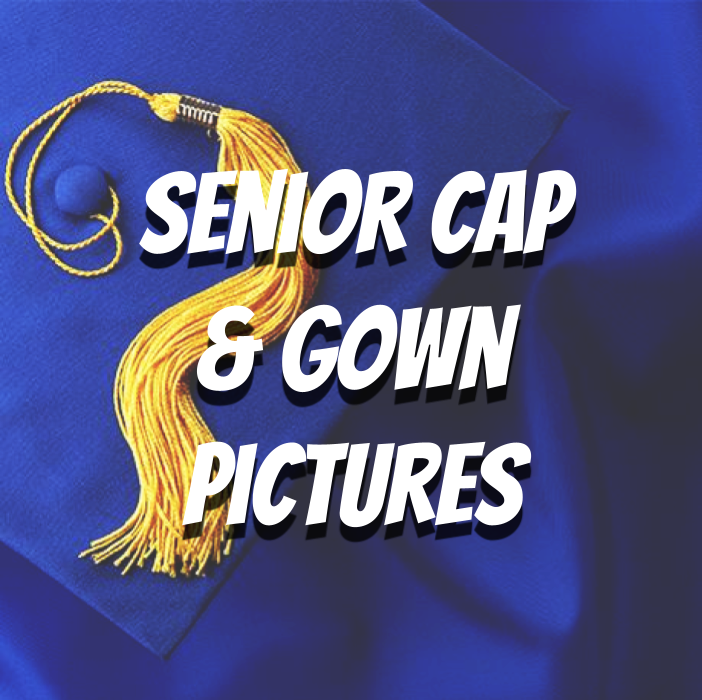 Senior Cap and Gown Pictures
